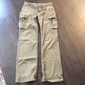Banana Republic cargo pants. Size 4. Olive green.